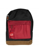 Lim Bag Black Red Rucksack