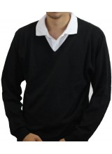 Men's Plain Knitted Jumper