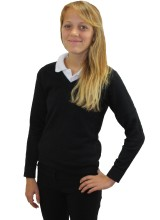 Women's Plain Knitted Jumper