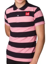 Men's Slim Fit Striped Polo