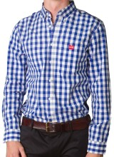 Men's Slim Fit Check Shirt
